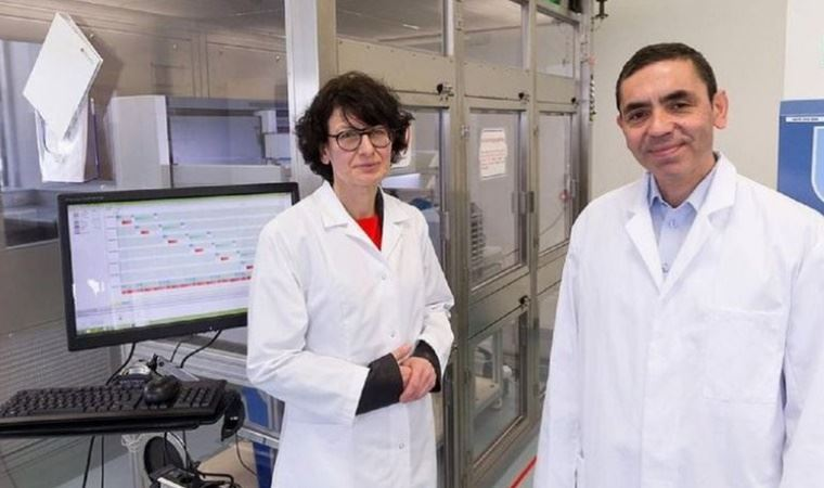 Financial Times honors vaccine founders Şahin, Türeci as People of the Year