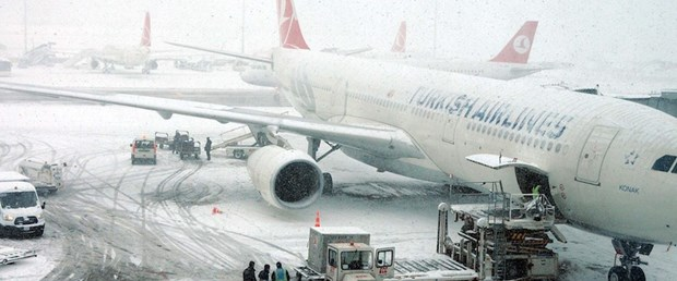 Flights canceled as Istanbul struggles heavy snawfall