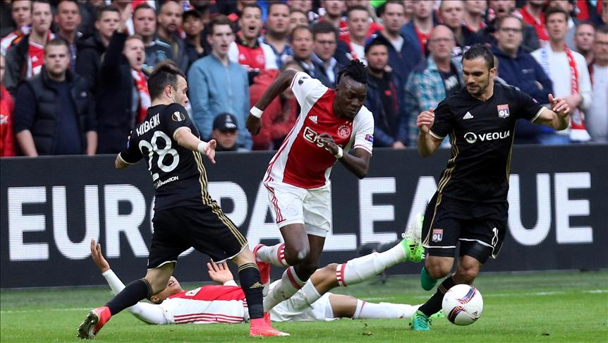 Football: Ajax defeat Lyon 4-1 in Europa League semis