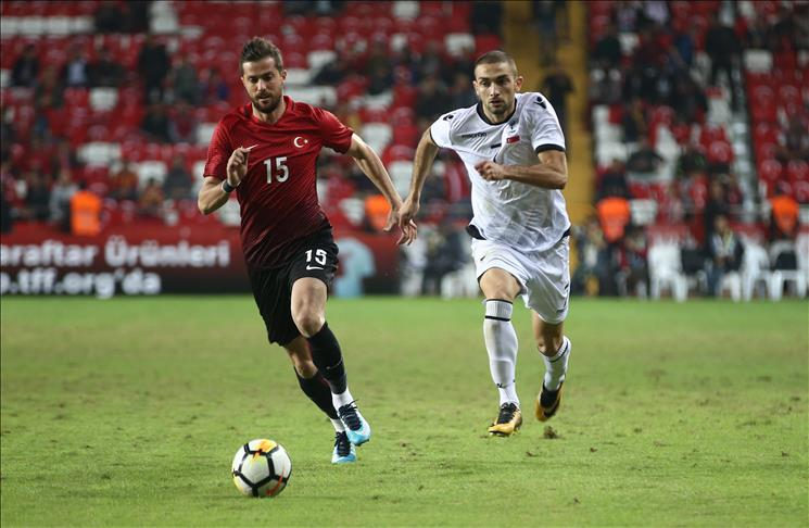 Football: Albania defeat Turkey 3-2 in friendly
