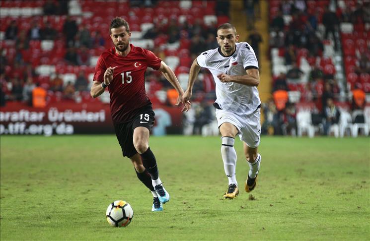 Football: Albania defeat Turkey 3-2 in friendly