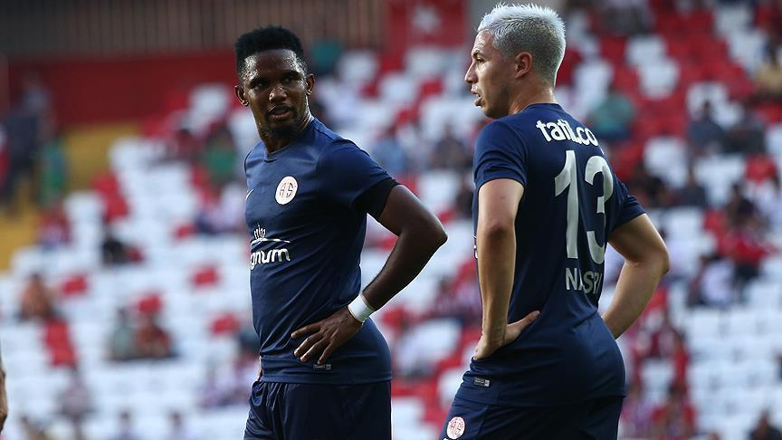 Football: Antalyaspor stars Nasri, Eto'o leave club
