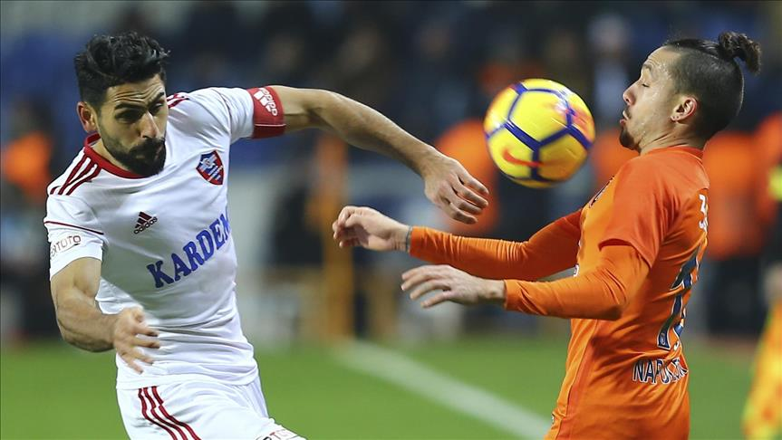Football: Basaksehir dominate Karabukspor to top league