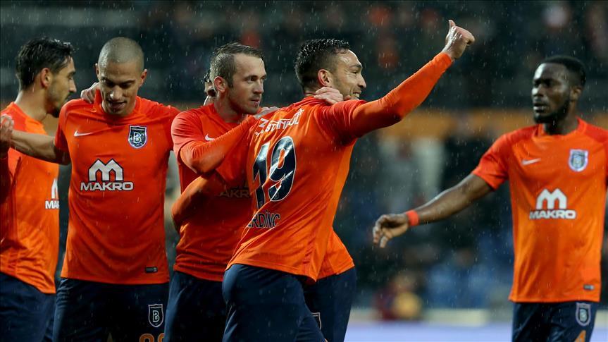 Football: Basaksehir retake leaders spot in Super Lig