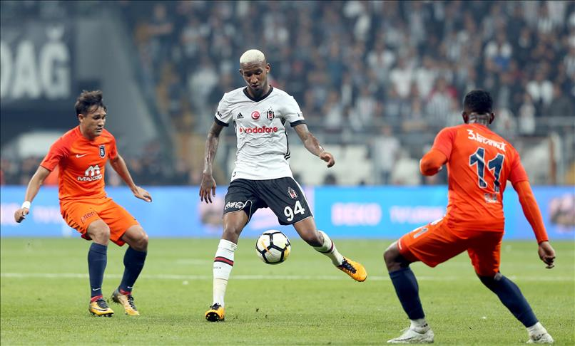 Football: Besiktas Basaksehir draw 1-1 to late goals
