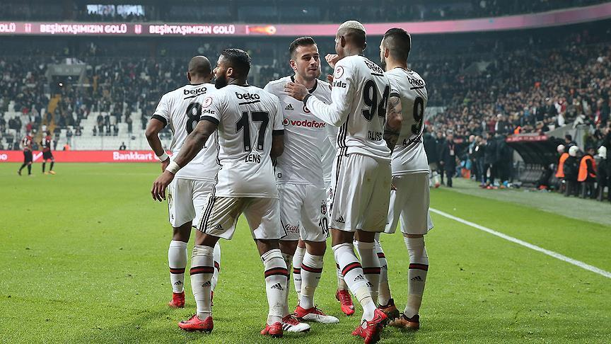 Football: Besiktas beat Genclerbirligi in Turkish Cup
