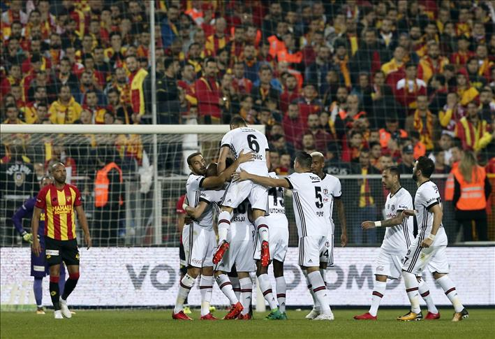 Football: Besiktas defeat Goztepe 3-1 in Izmir