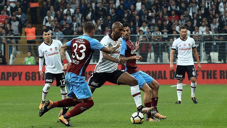 Football: Besiktas, Trabzonspor draw in Istanbul
