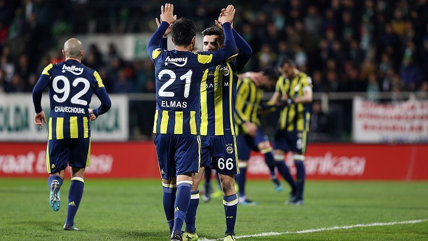 Football: Fenerbahce defeat Giresunspor in Turkish Cup