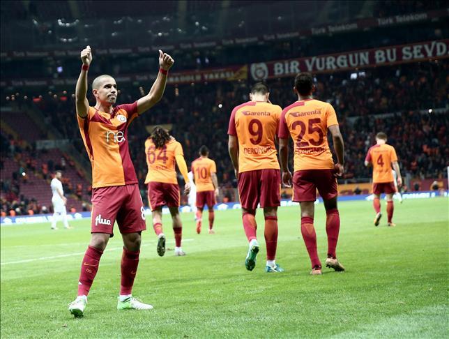 Football: Galatasaray comeback defeat Akhisarspor
