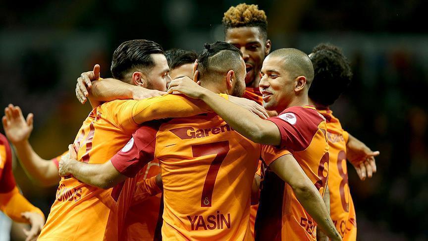Football: Galatasaray defeat Sivas Belediyespor 5-1