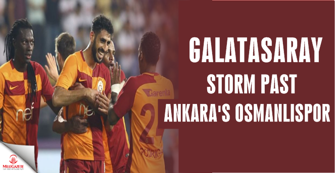 Football: Galatasaray storm past Osmanlıspor