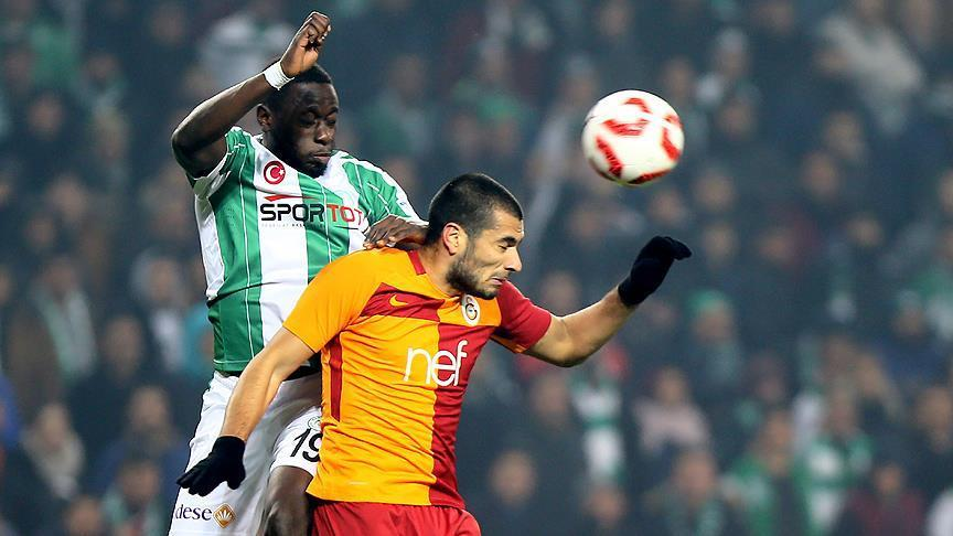 Football: Konyaspor, Galatasaray draw in Cup game