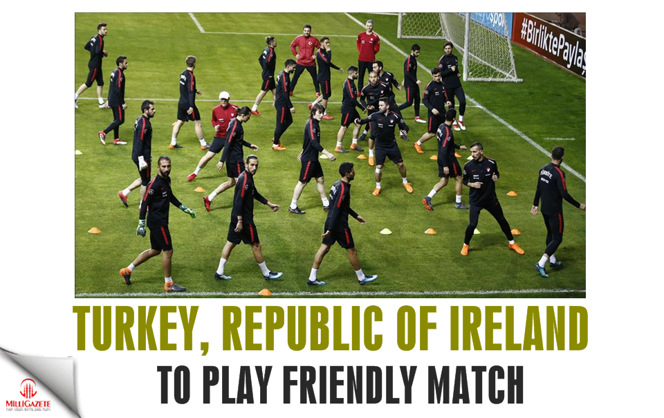 Football: Turkey, Republic of Ireland to play friendly