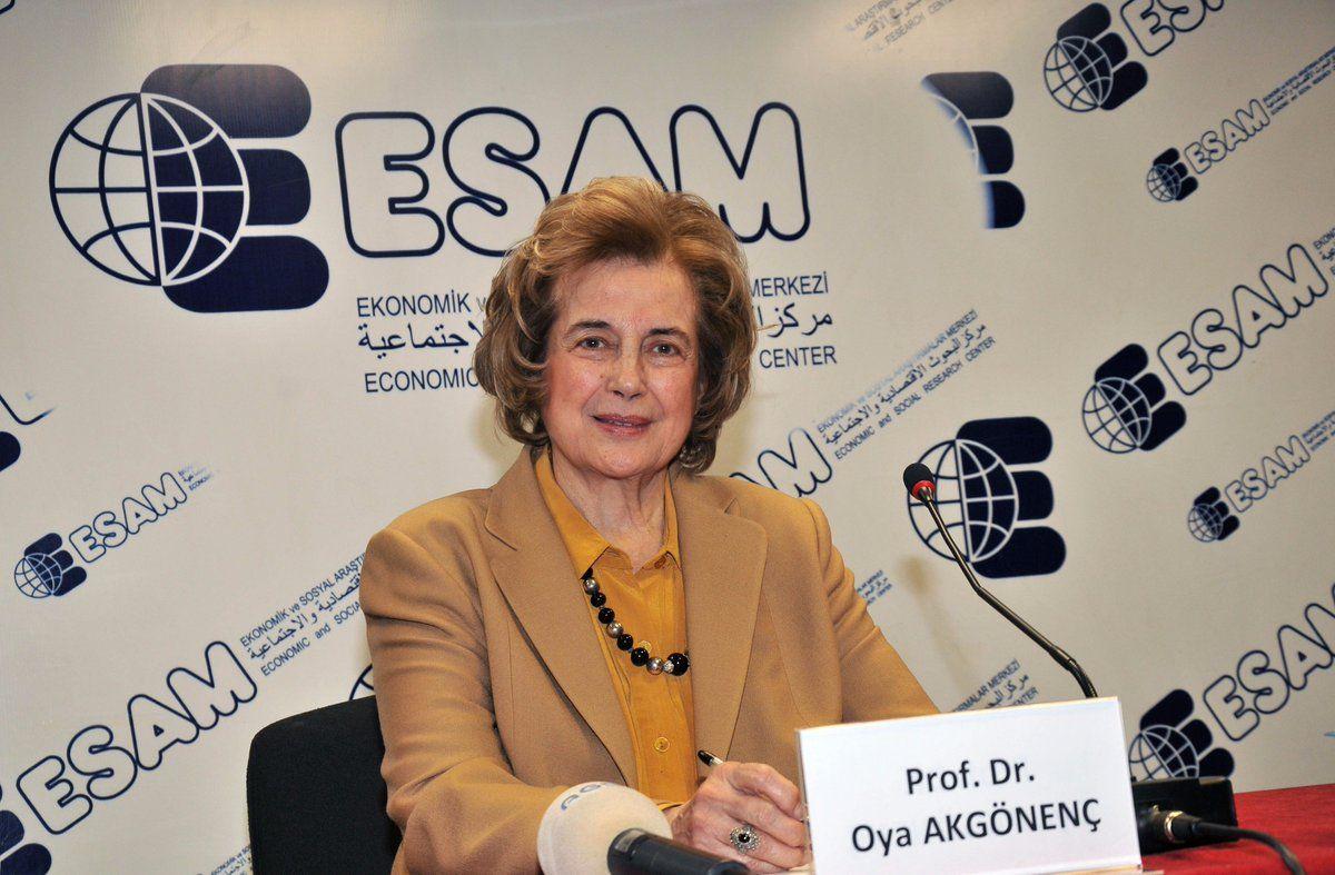 Former deputy of Saadet Party Prof. Dr. Oya Akgönenç passed away