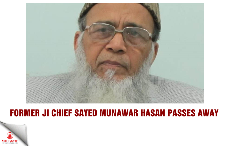 Former JI chief Syed Munawar Hasan passes away
