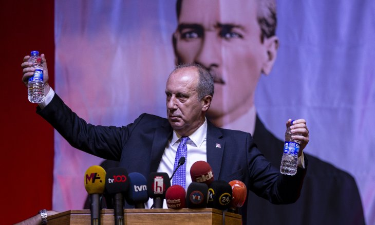 Former presidential candidate Muharrem İnce kicks off new movement, slams CHP
