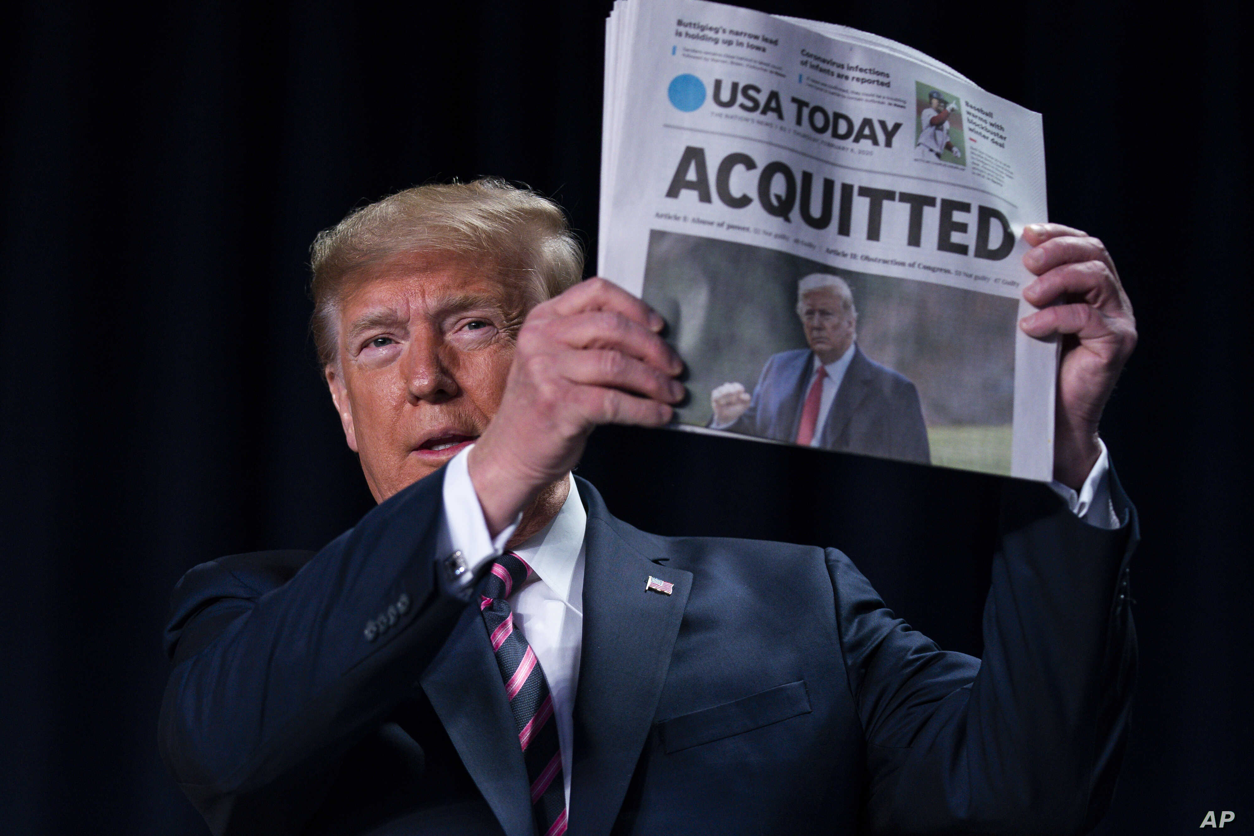 Former U.S. President Donald Trump acquitted in 2nd impeachment trial