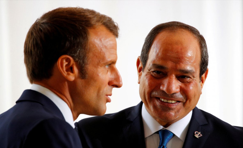 France attempted to hide award ceremony featuring Egyptian dictator Sisi
