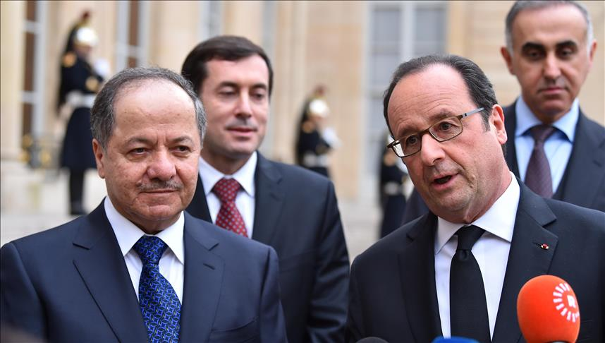 France's Hollande, IKRG's Barzani meet in Paris