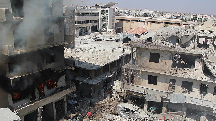 Fresh Russian airstrikes kill 18 in Syria's Idlib