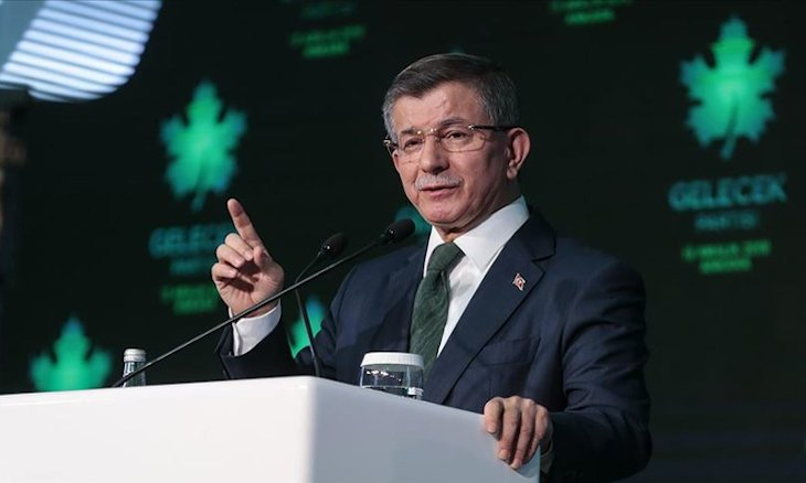 Future Party leader Davutoğlu challenges gov't to call early election