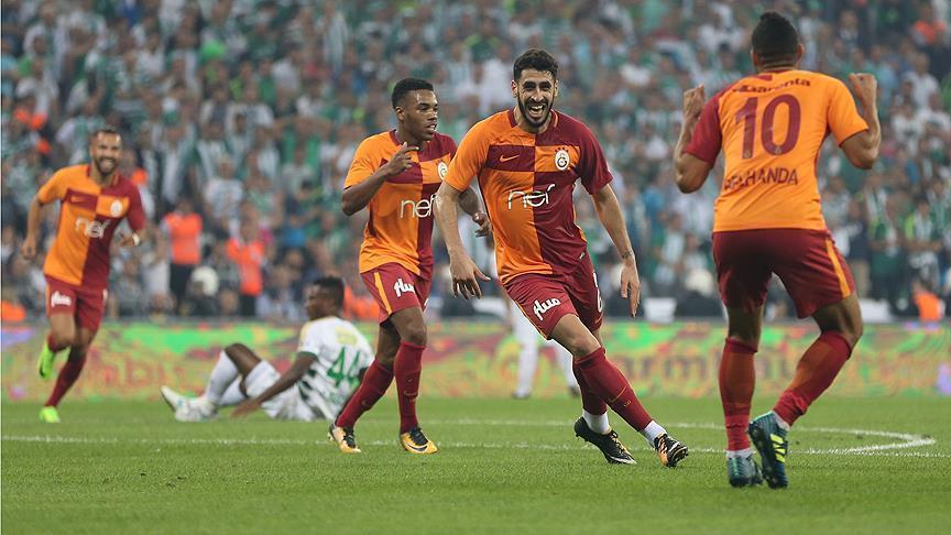 Galatasaray complete comeback against Bursaspor: 2-1