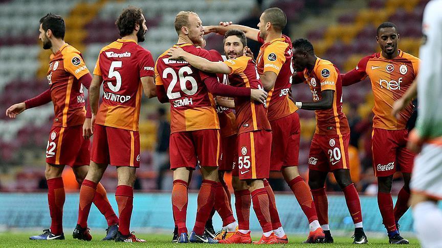Galatasaray crushes Alanyaspor