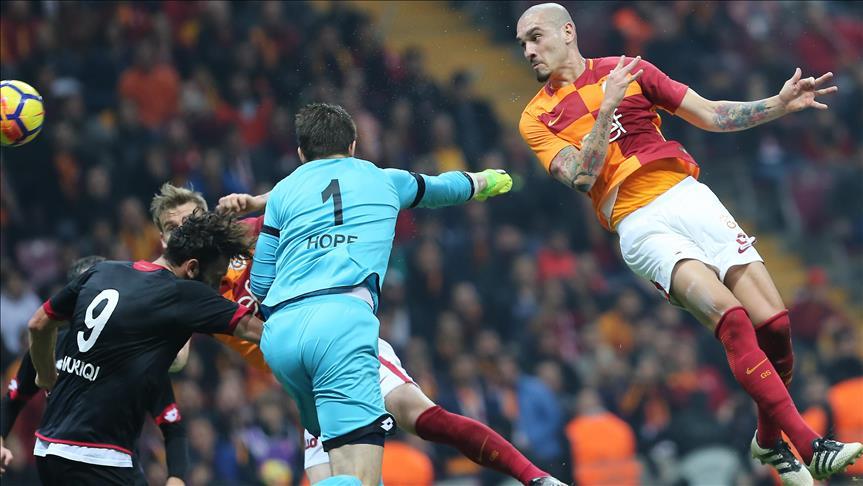 Galatasaray slams Genclerbirliği in İstanbul