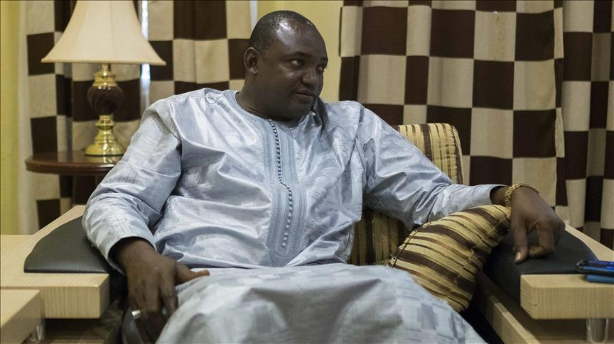 Gambia's Barrow promises to recover stolen assets