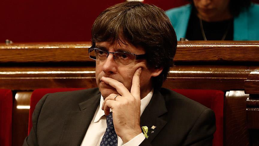 German police detain former Catalan president