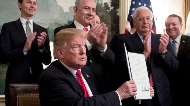 Global bandits: Political gains of Israel under Trump administration
