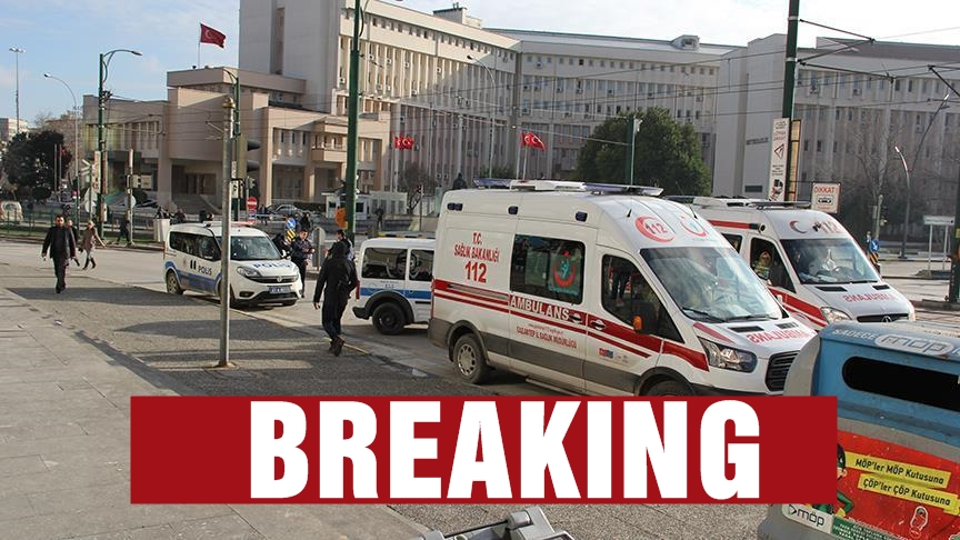 Gunfire reported outside police building in SE Turkey