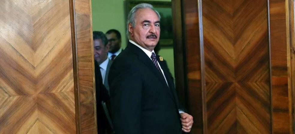 Haftar run away from ceasefire meeting