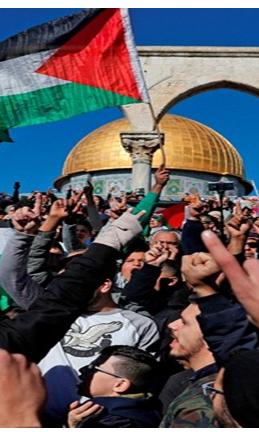 Hamas announces third intifada as Trumps Jerusalem move fuels tensions