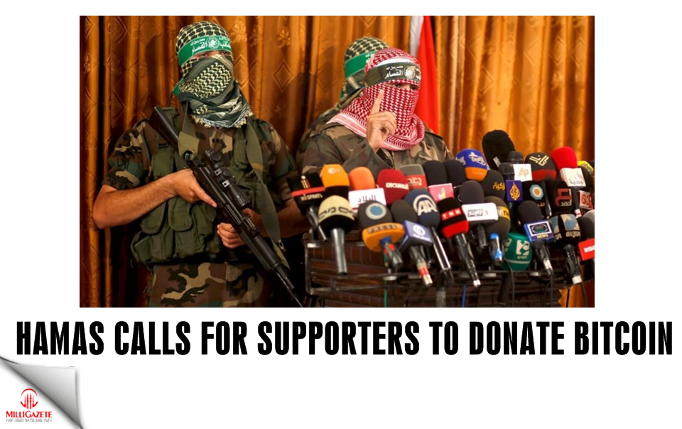 Hamas calls for supporters to send bitcoin