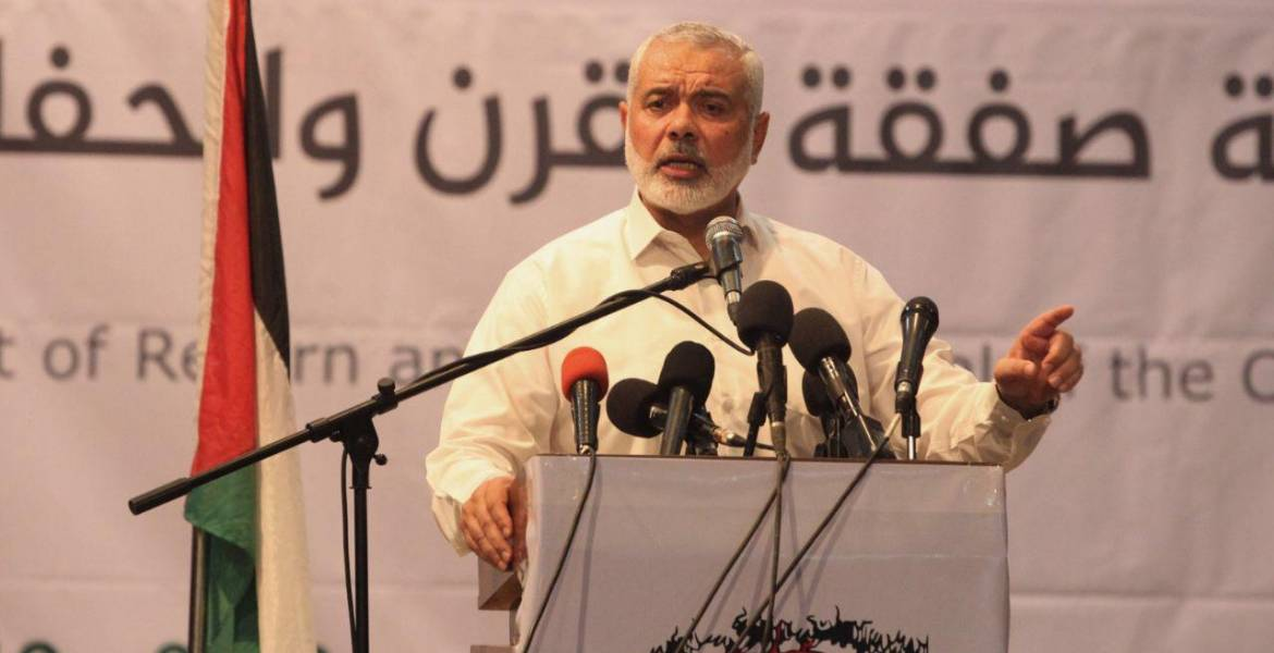 Hamas chief: Palestinian people uphold their right to return