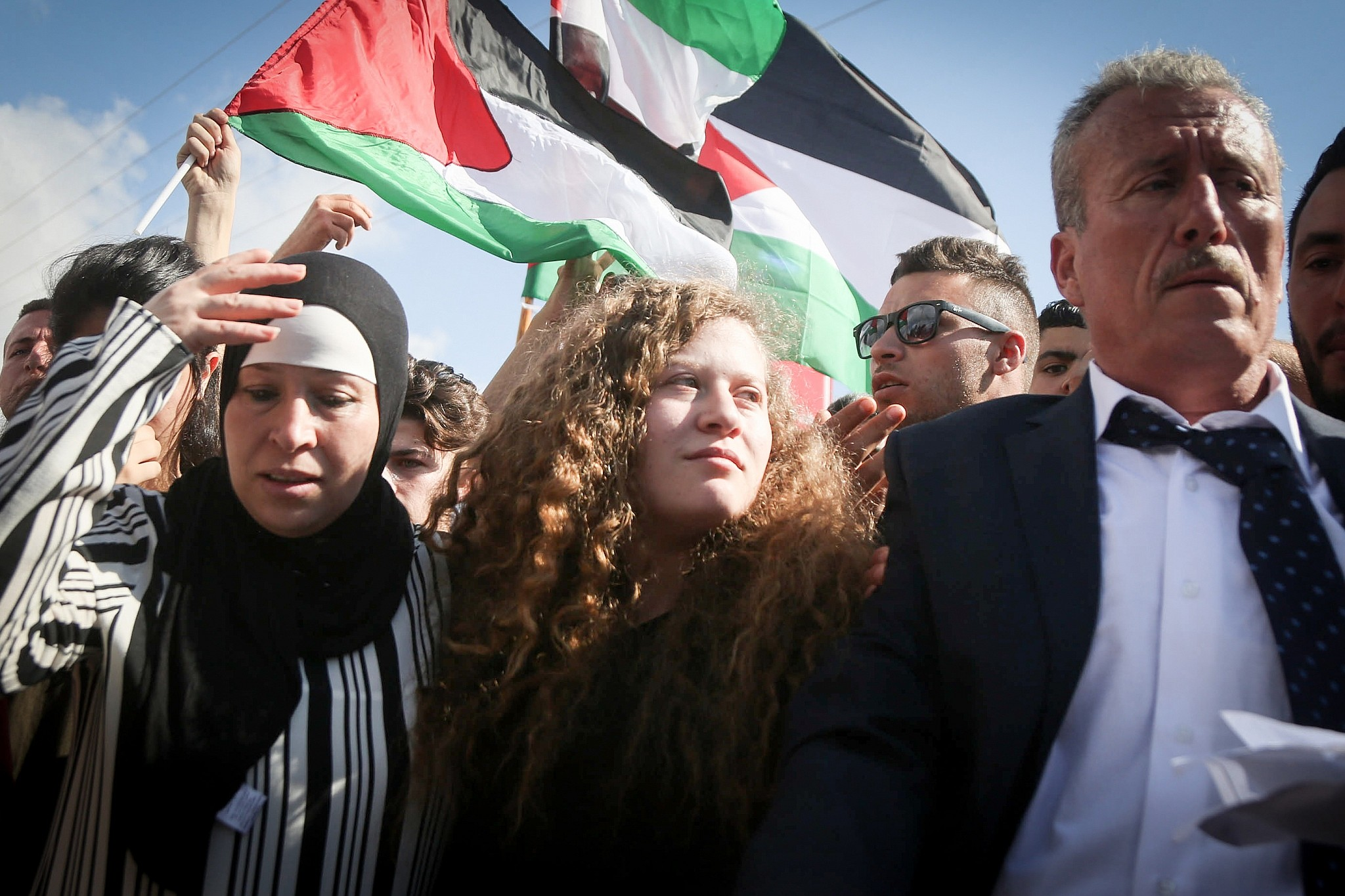 Hamas congratulates Palestinian girl Ahed al-Tamimi on her release