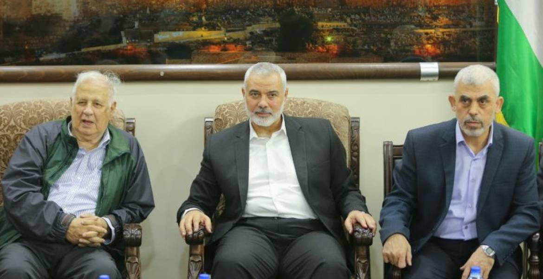 Hamas invites Abbas to visit Gaza for talks