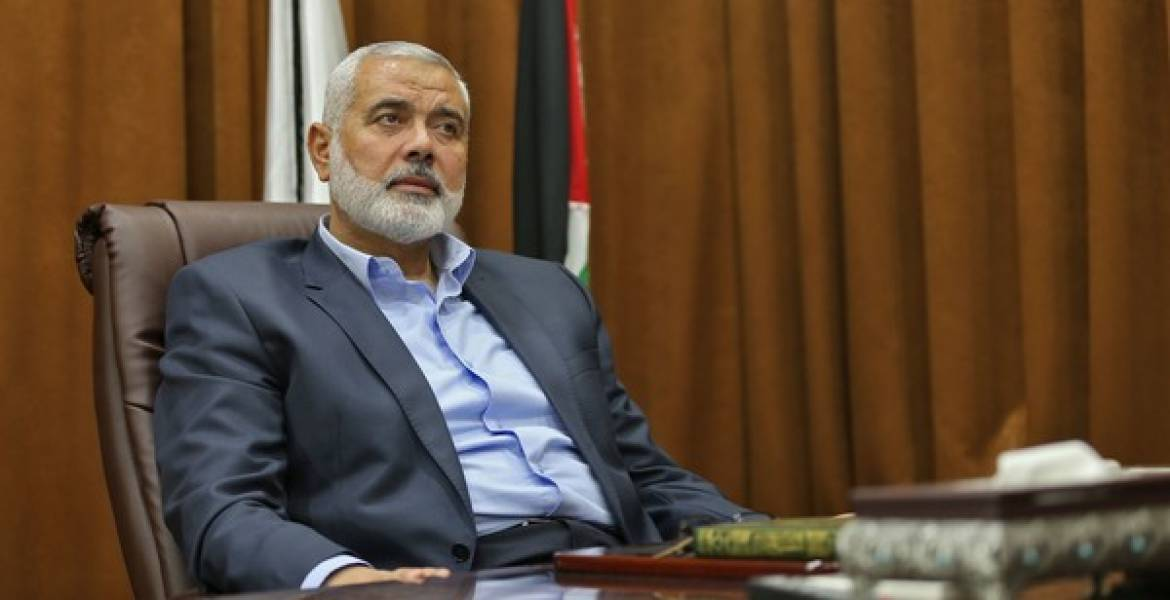 Hamas leader receives UN Special Coordinator for Middle East