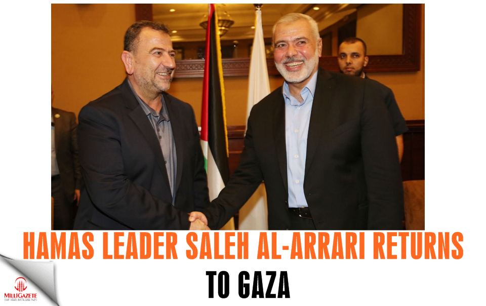 Hamas leader Saleh al-Arrari returns to Gaza