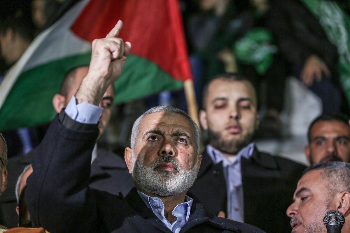 "Hamas leader: ""We will never recognize Israel!"""