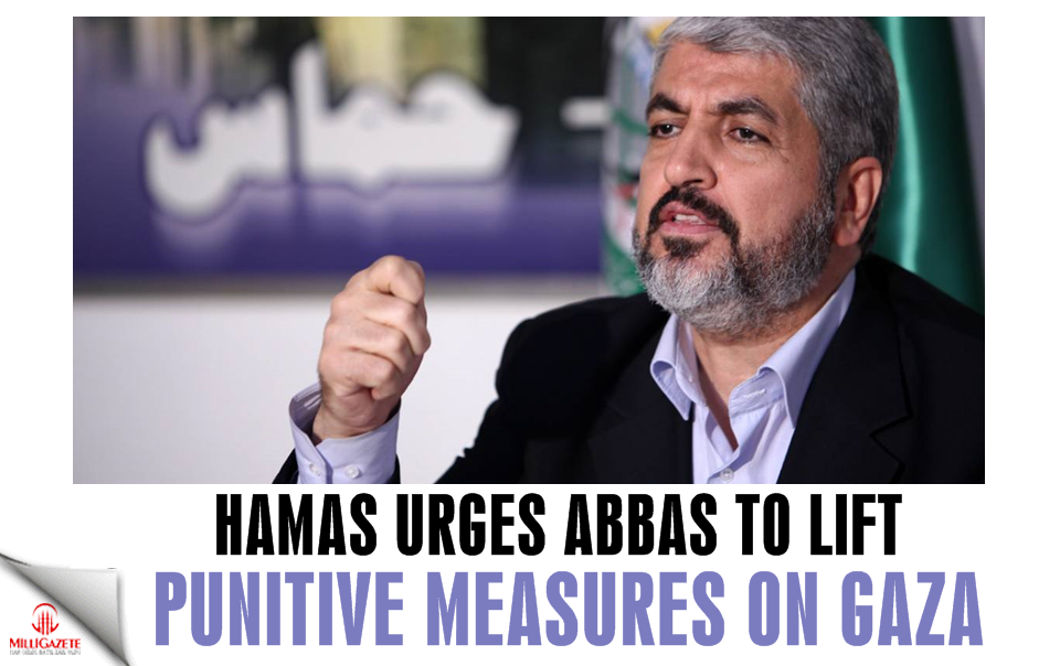 Hamas urges Abbas to lift punitive measures on Gaza