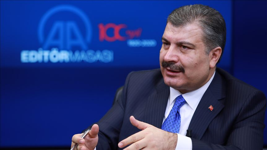 Health minister: Coronavirus encircled Turkey due to slow response of other countries