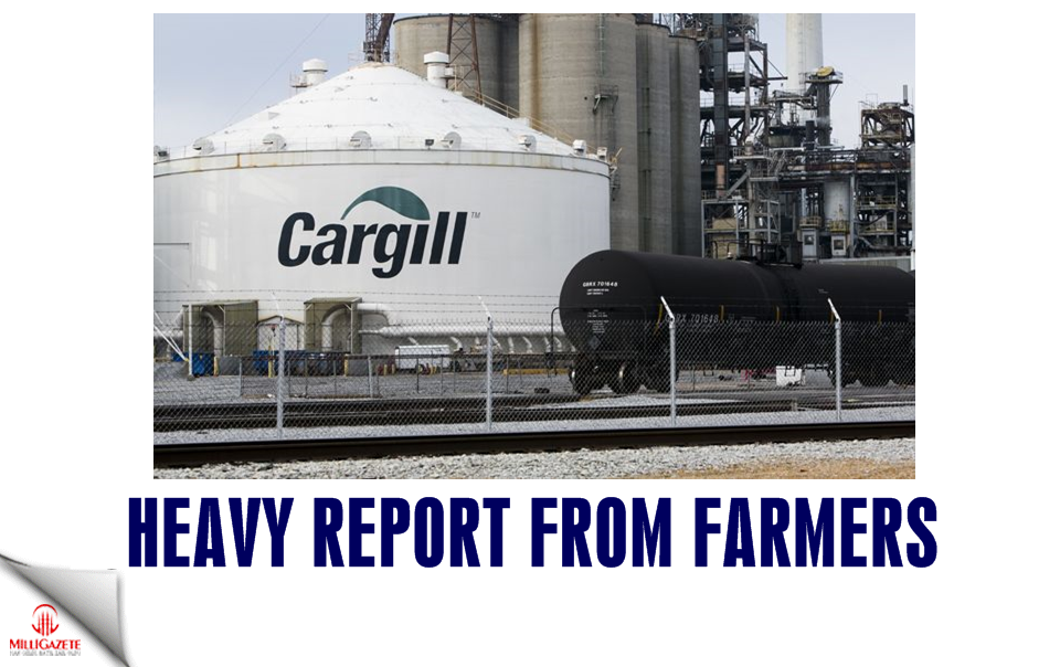 Heavy report from farmers