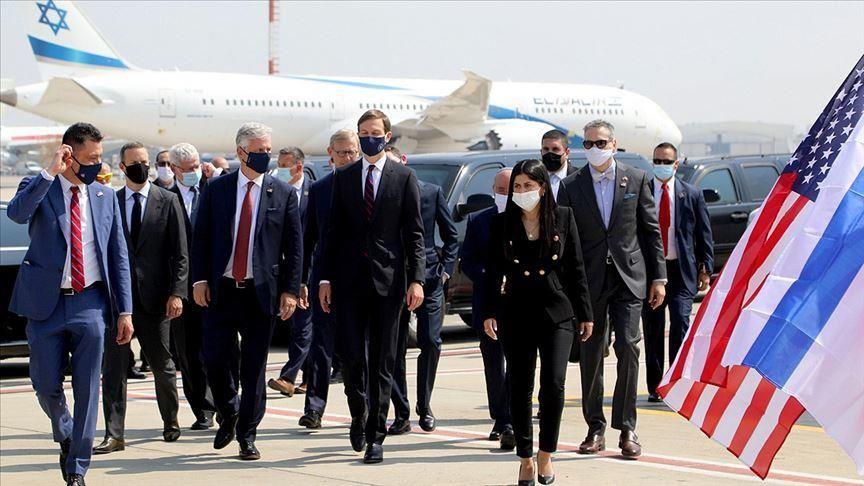 How did Gulf media report Israeli delegation to UAE?
