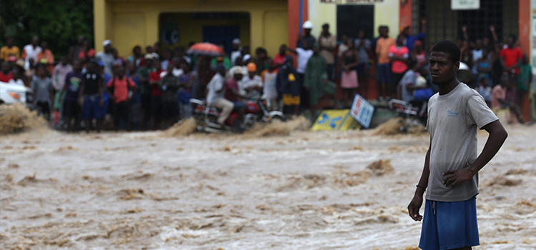 Hundreds dead in Haiti storm disaster