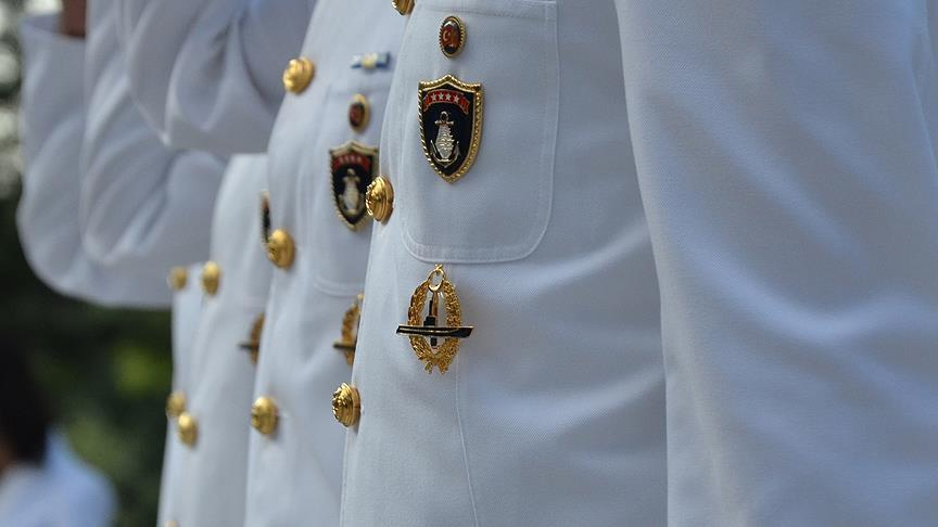Hundreds of navy officers suspended in FETO probe