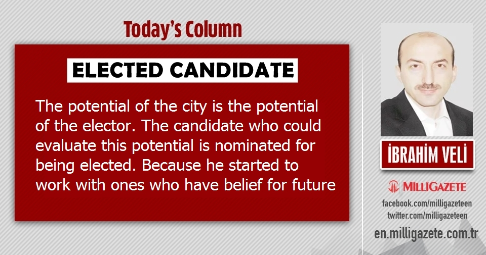 """İbrahim Veli: """"Elected candidate"""""""