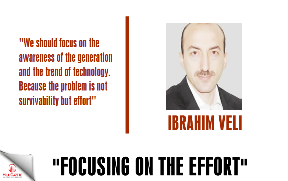 "Ibrahim Veli: ""Focusing on the effort"""